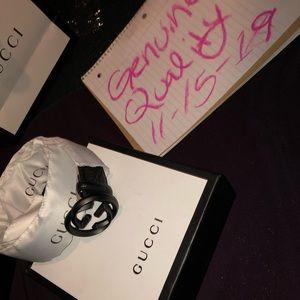 Gucci Signature Belt: Guccissima Embossed